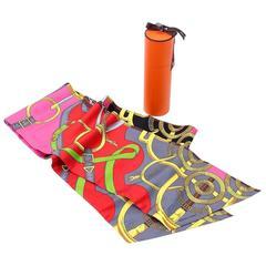 Hermes Silk Sash Scarf in Box