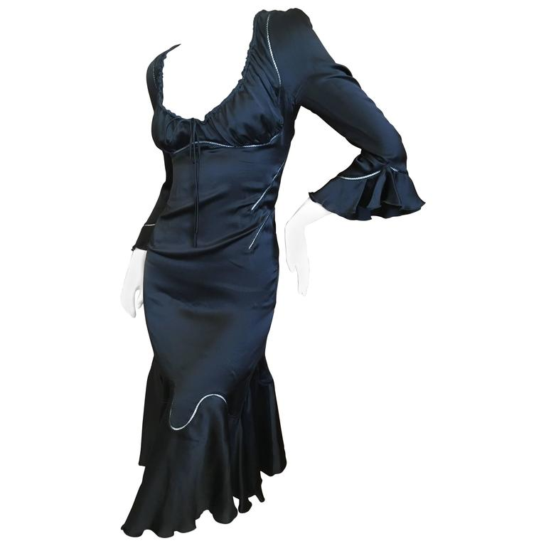 Alexander McQueen Fall 2002 Supercalifrgilistic Collection Little Black Dress 1