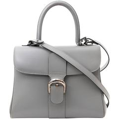 Delvaux Brillant Grey MM + strap
