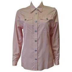 Gianni Versace Couture Polka Dot Shirt