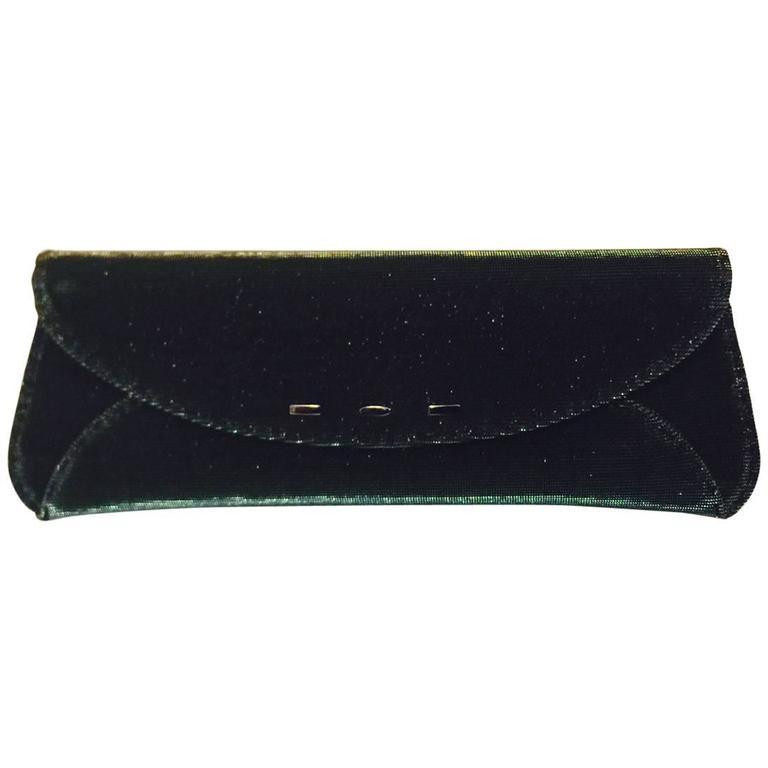 VBH Limited 1st Edition Iridescent Emerald Elongated Envelope Clutch 025/500