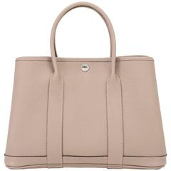 Hermes Gris Tourterelle TPM Garden Party Dove Grey Chic