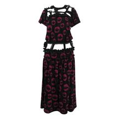 Comme des Garcons 2008 Ribbon Kiss Dress