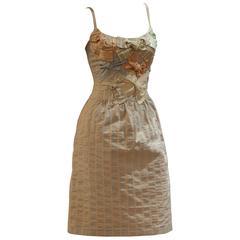 Elegant and Rare Moschino Bow Coton Dress