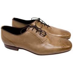 Bottega Veneta Brown Leather Brogues