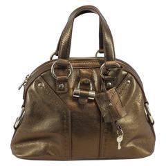 Mini Muse Yves Saint Laurent Bag Golden Bag.