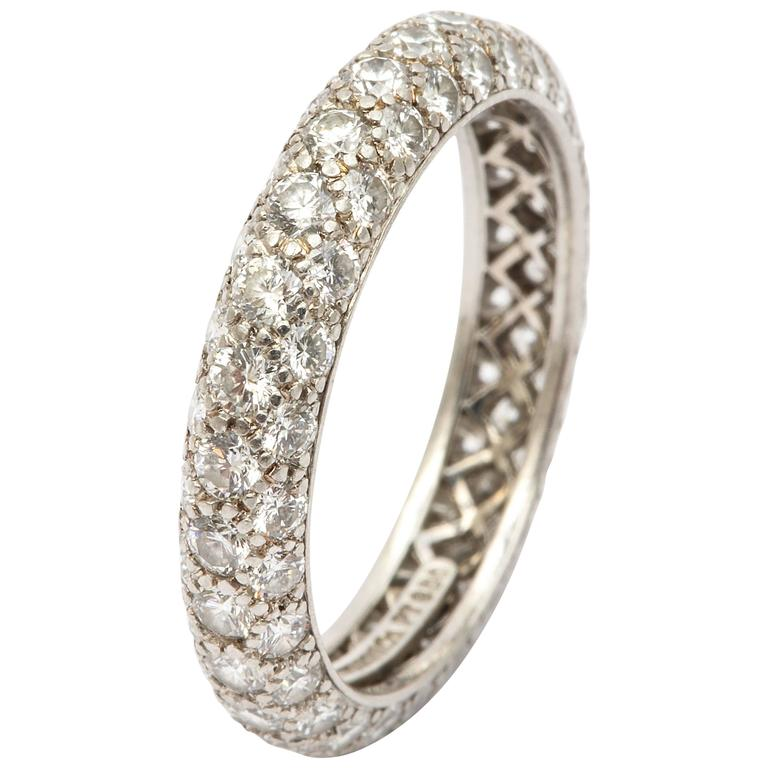 Tiffany Diamond Etoile Eternity Band For Sale