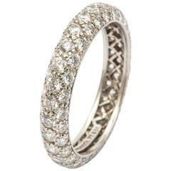 Tiffany Diamond Etoile Eternity Band