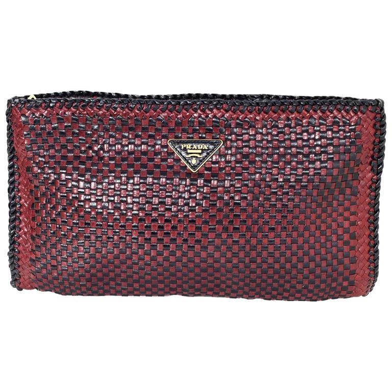 1stdibs Original 1940s Large Burgundy Crocodile Skin Clutch Bag GFpSbbq6