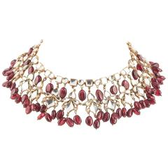 Kenneth Jay Lane Moghul style necklace, 1960s