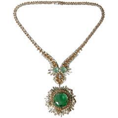 West German Rhinestone Necklace