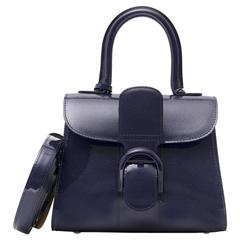 Brand*New Delvaux Brillant mini vernis indigo
