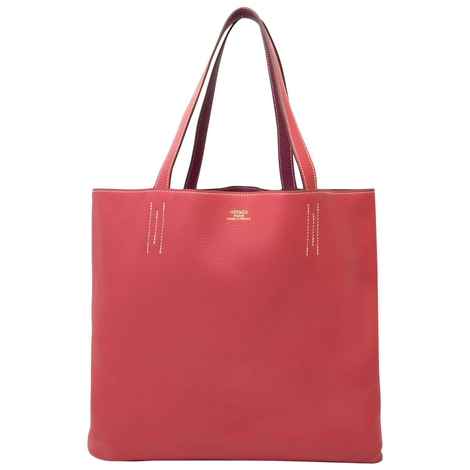 2a3ed18d4482 Hermès Birkin 35 cm Candy Veau Epsom Rose Tyrien + receipt at 1stdibs