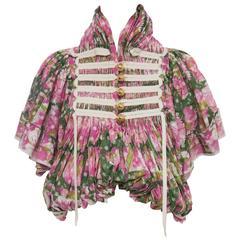 Tao For Comme des Garcons Floral Cotton Eyelet Jacket, Spring -Summer 2009