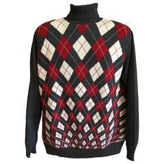 Jean Paul Gaultier Homme Argyle Sweater