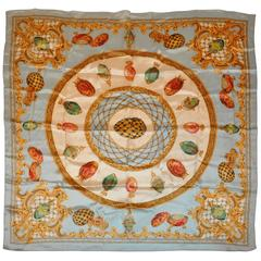 """""""Collection of Faberge Eggs"""" Silk Scarf"""