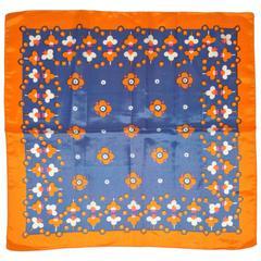 Patricia Dumont Multi Floral Silk Scarf