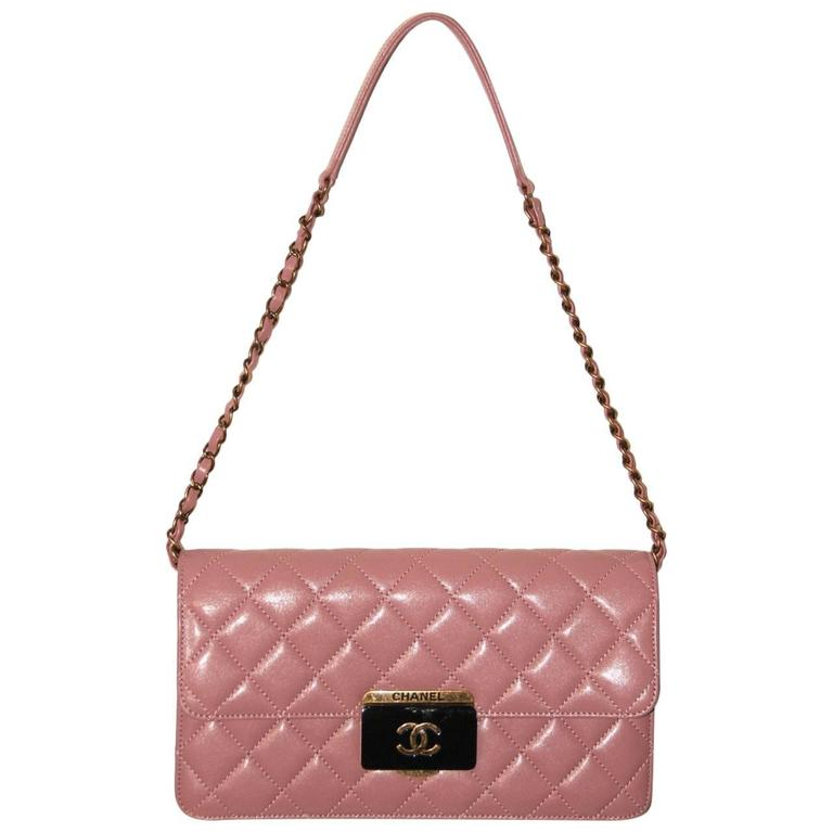Chanel Beauty Lock Flap - Bag Old Pink Sheepskin Leather - 2016 NEVER WORN 1
