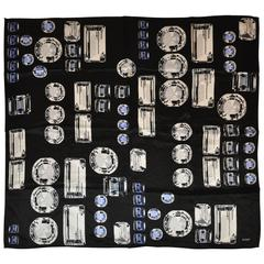 "Echo ""Collection of Diamonds"" Silk Scarf"