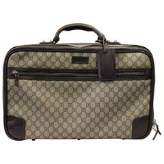 2000S Gucci Logo Suitcase