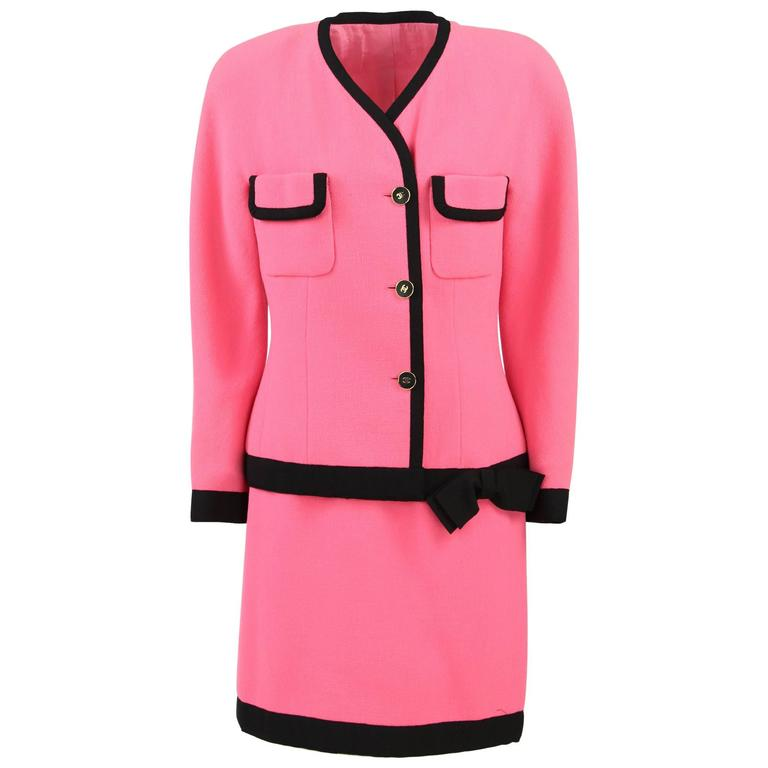 1990S Pink Chanel Suit 1