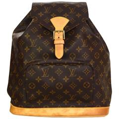 Louis Vuitton Monogram Montsouris GM Backpack Bag