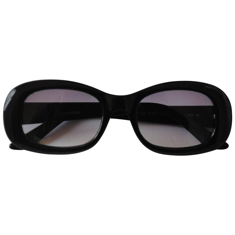 Valentino black sunglasses