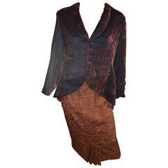 Matsuda Cutaway Jacket and Skirt
