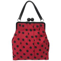 Moschino Polka Dot Handbag