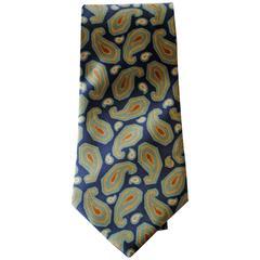 Loris Azzaro Blu Tie