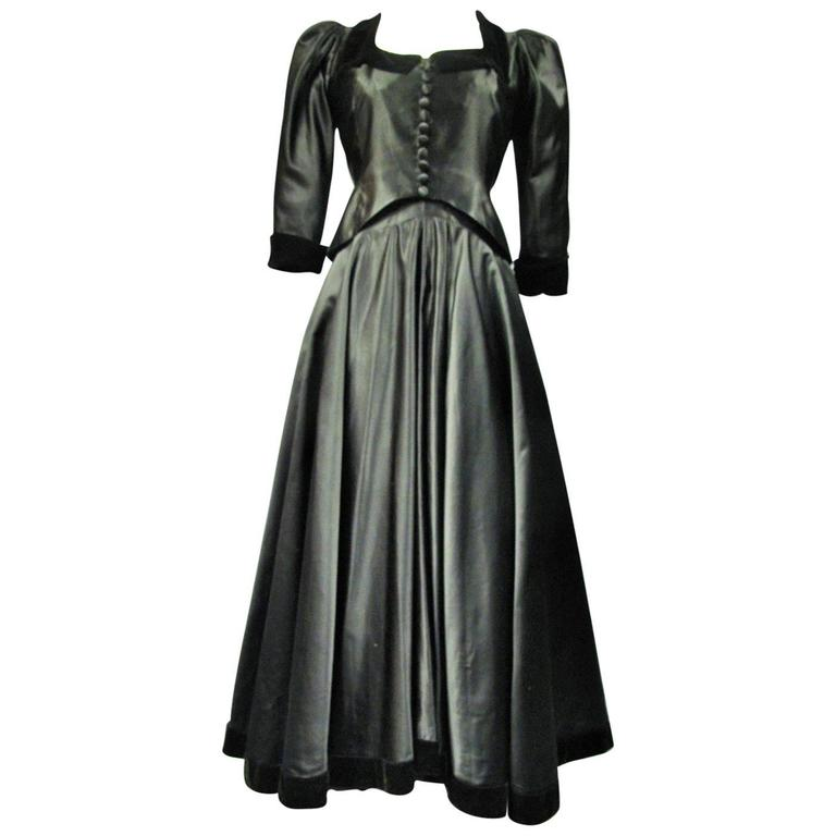 Maggy rouff haute couture circa 1935 for sale at 1stdibs for Haute couture sale
