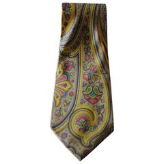 Ungaro Yellow multicolour Tie