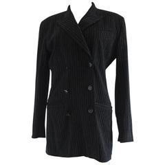 Jean Paul Gaultier Femme Black Stripes Jacket