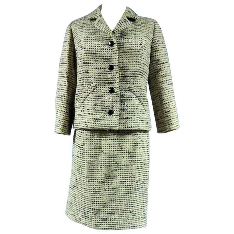 Balenciaga/EISA Suit Haute Couture Circa 1958/1963