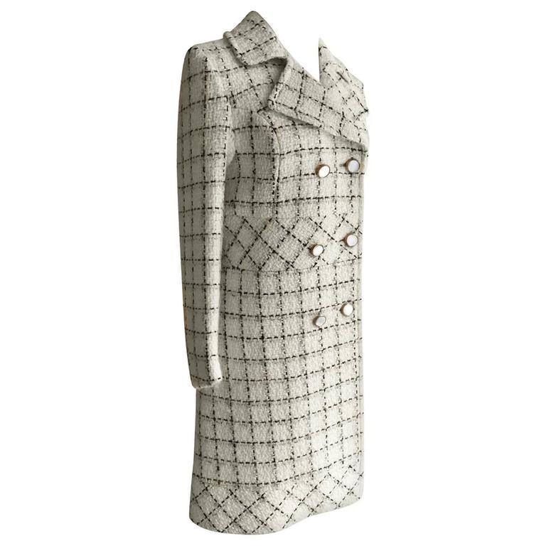 Schiaparelli Tweed Classic Coat