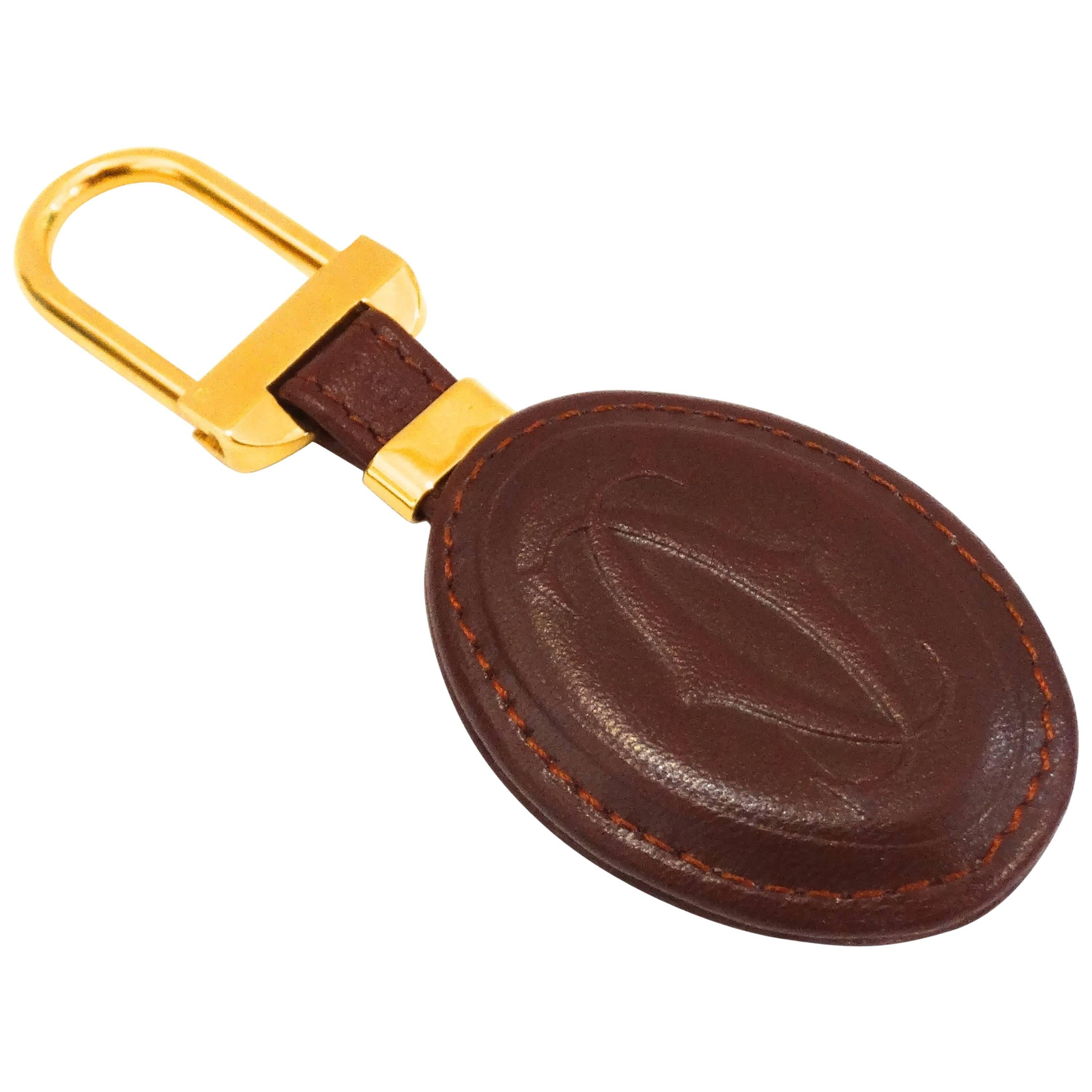 1980s Cartier Leather Keychain at 1stdibs cfca2801ca
