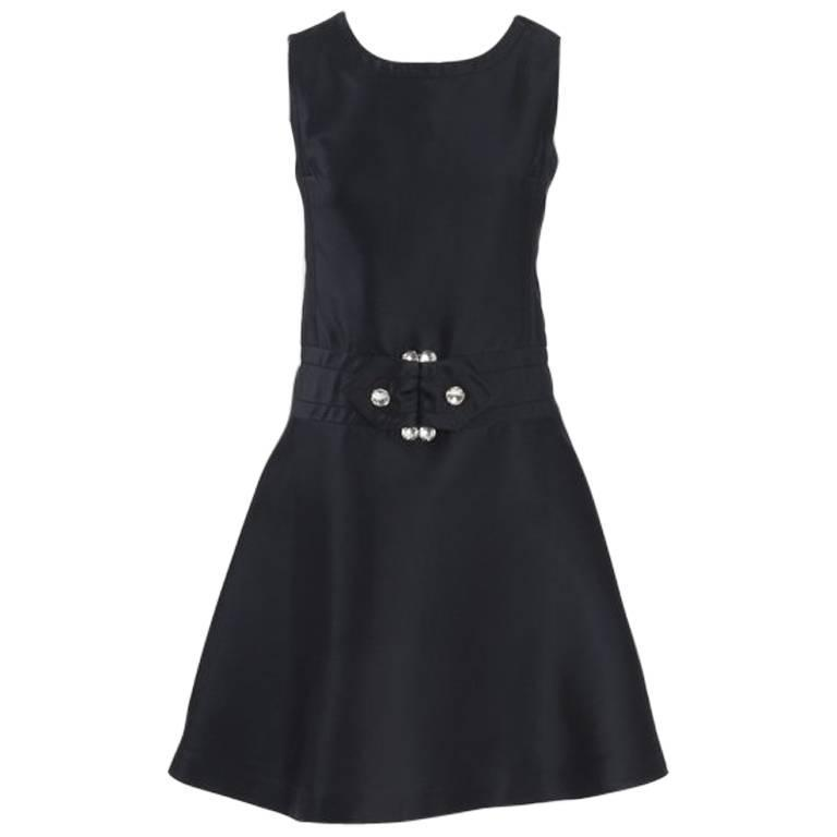 Numbered Jean Patou Silk Dress  For Sale