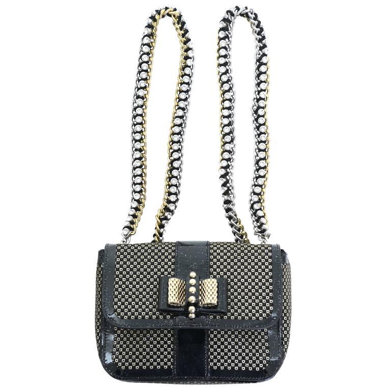 Christian Louboutin Sweet Charity Backpack Crystal Embellished Mini 1