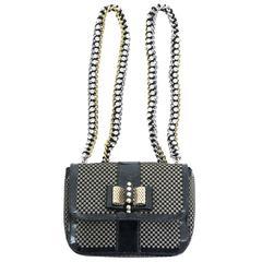 Christian Louboutin Sweet Charity Backpack Crystal Embellished Mini
