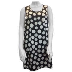 Celine Polka Dot Swing Dress with Pockets