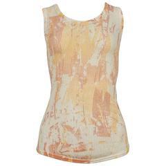 Vivienne Westwood Rare Abstract Paint Top