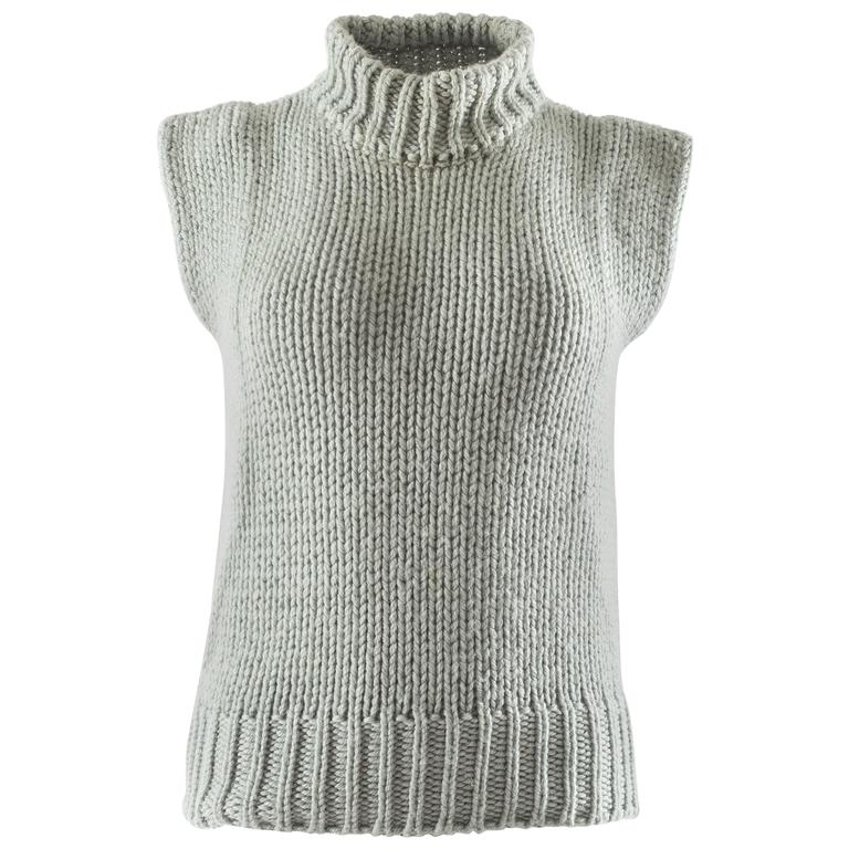 Margiela Autumn-Winter 1994 reproduction of a doll's sweater vest 1