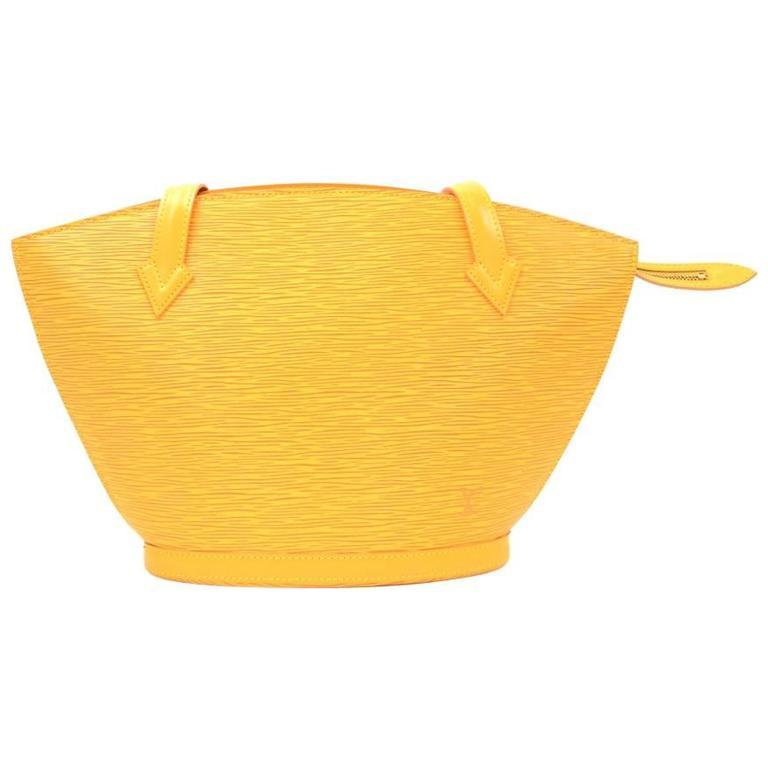 3948ce1888e6 Louis Vuitton Saint Jacques PM Yellow Epi Leather Shoulder Bag For Sale at  1stdibs