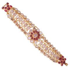 Chanel Byzantine Bracelet - gold