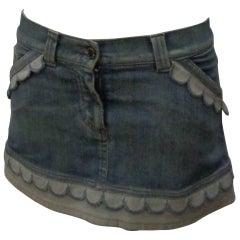 Anna Molinari Denim Skirt