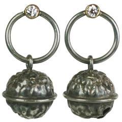 Diamond Bell Earrings, SdesR