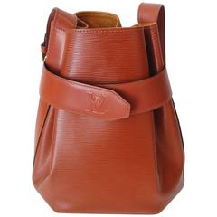 Rare !990s Louis Vuitton Epi Leather Bucket Bag