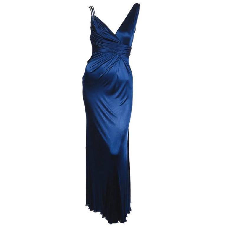 Versace Silk Jersey Dress from Fall 2009