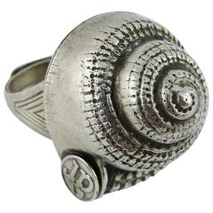 Jean Paul Gaultier Vintage Shell Ring
