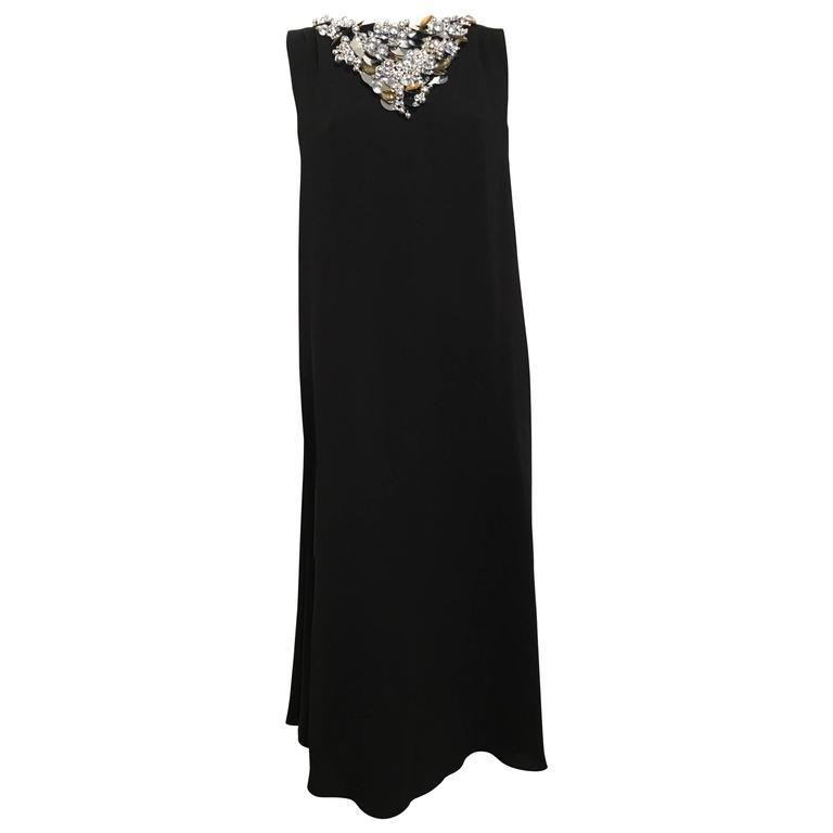 Chanel Embellished Black Cocktail Dress (Resort 2015) 1